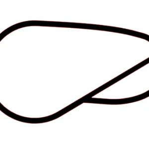 Brooklands circuit racetrack decal