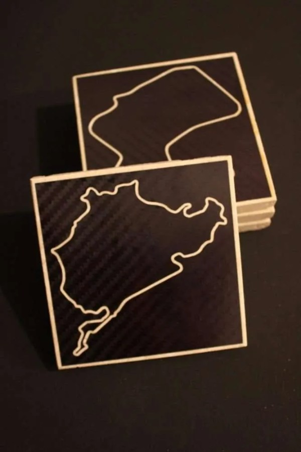 mix and match racetrack coasters