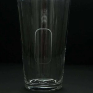 Indianapolis Motor Speedway oval beer glass