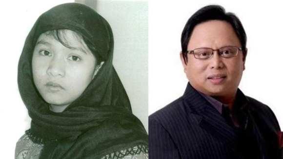Arnold Clavio and Sarah Balabahan