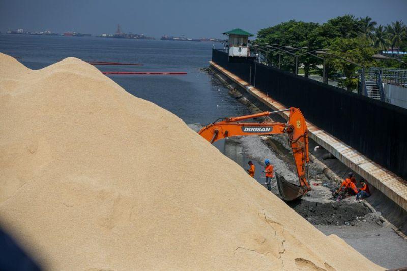 white sand manila bay