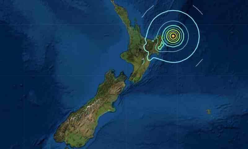 Tsunami Pacific Ocean Alert