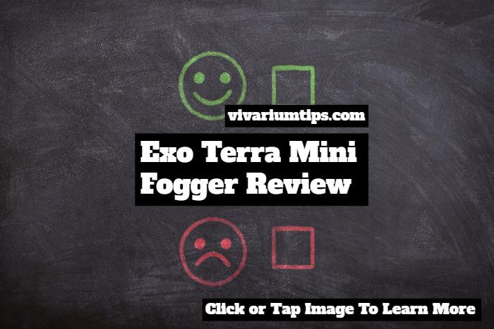 PT2080 exo terra mini fogger review