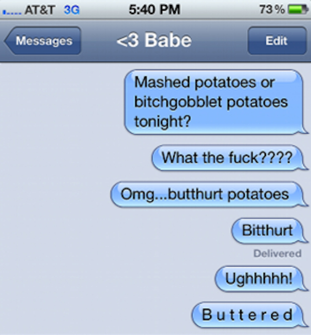 Buttered Potatoes: