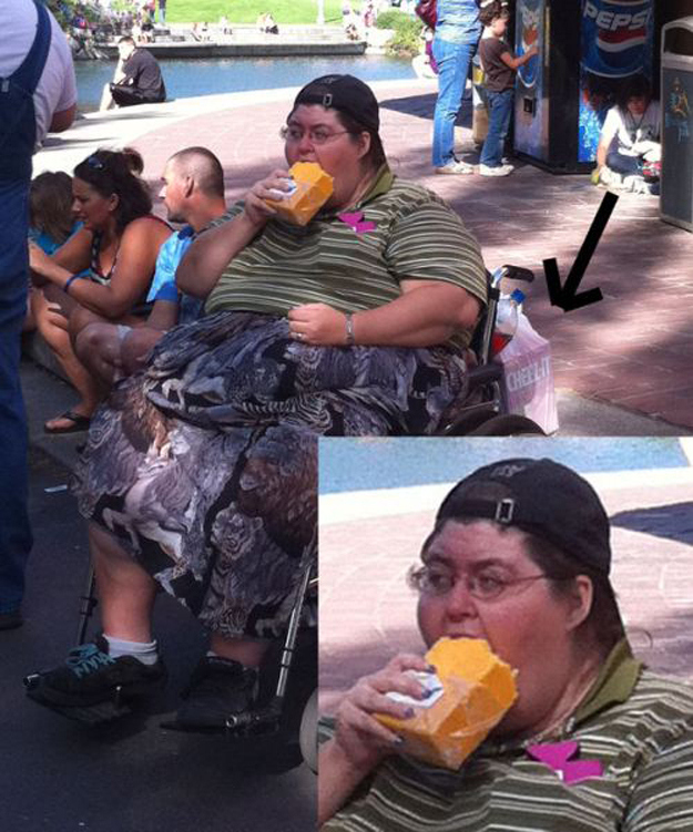 This woman eating a block of cheese.