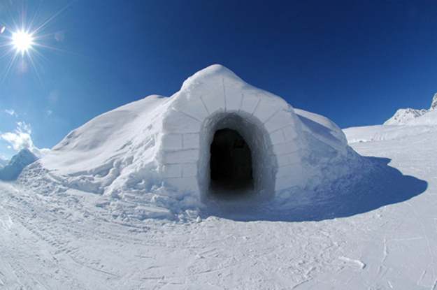 You can build an awesome igloo.