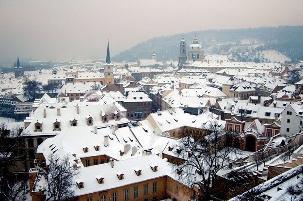 Cities look more charming blanketed in snow.