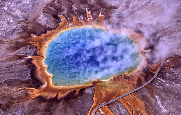 Grand Prismatic Spring - Yellowstone National Park, Wyoming