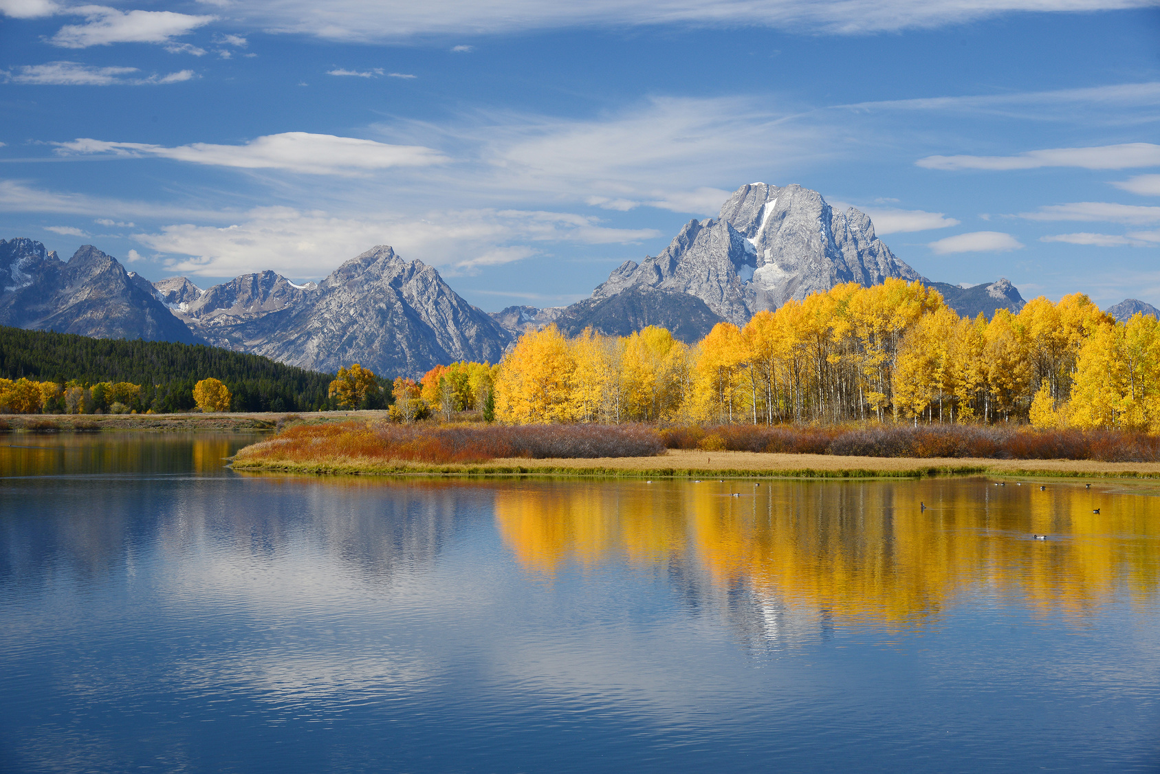 autumn in grand teton national park