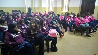 Alumnos de 6º A-B-C del Centro Educativo J.M. Estrada