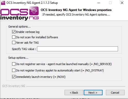ocs inventory agente windows 06