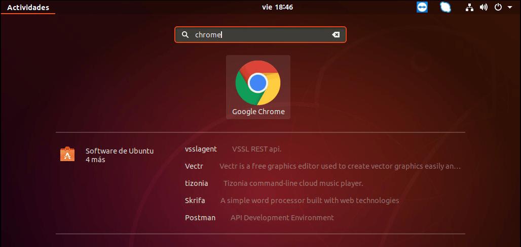 instalar chrome en ubuntu icono google chorme