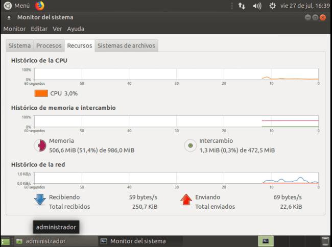instalar ubuntu minimal 18.04 PANTALLAZO ESCRITORIO 03