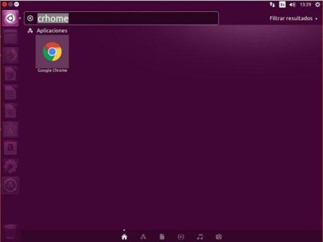 INSTALAR GOOGLE CHROME UBUNTU 16.04 buscar icono