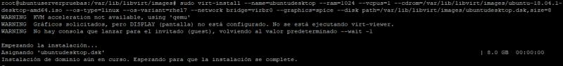 instalar kvm en ubuntu server 18 _13