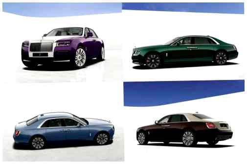 Rolls-Royce Ghost 2021 года.
