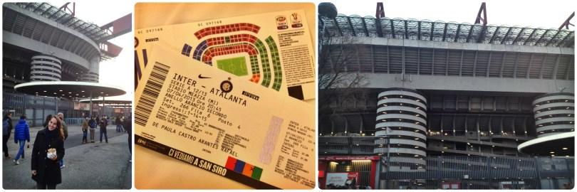 estádio de futebol em milão