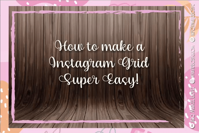 💞 How to make a Grid for Instagram with Photoshop 💞
