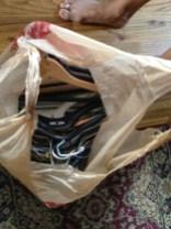 More hangers. DONATE.