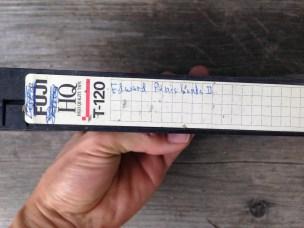 Edward Penishands. In VHS. Classic! TRASH.