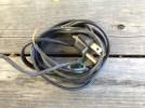 A cut off electrical cord. God. TRASH.