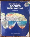 An Atlas from 1996. Jesus, how many countries don't even exists anymore? RECYCLE.