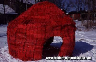 menstrual hut