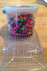 Big Perler beads for small kids. $5.