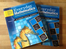Scrotus's math books which the district has abandoned in favor of another technique. Tortures of the damned. RECYCLE.