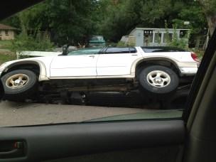 A car near Pamcake's house