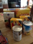 More donated food.