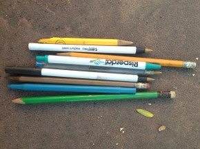 Dried out pens