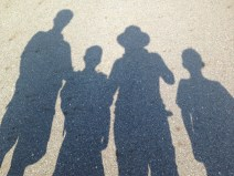 Shadows with the boys and Perry