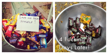 Aside from feeling like the school harlot, I had a candy incident.