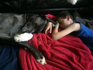 Napping with Blue