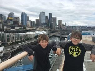 Embarking in Seattle