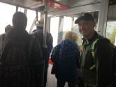 Riding the tram to Robert's Peak