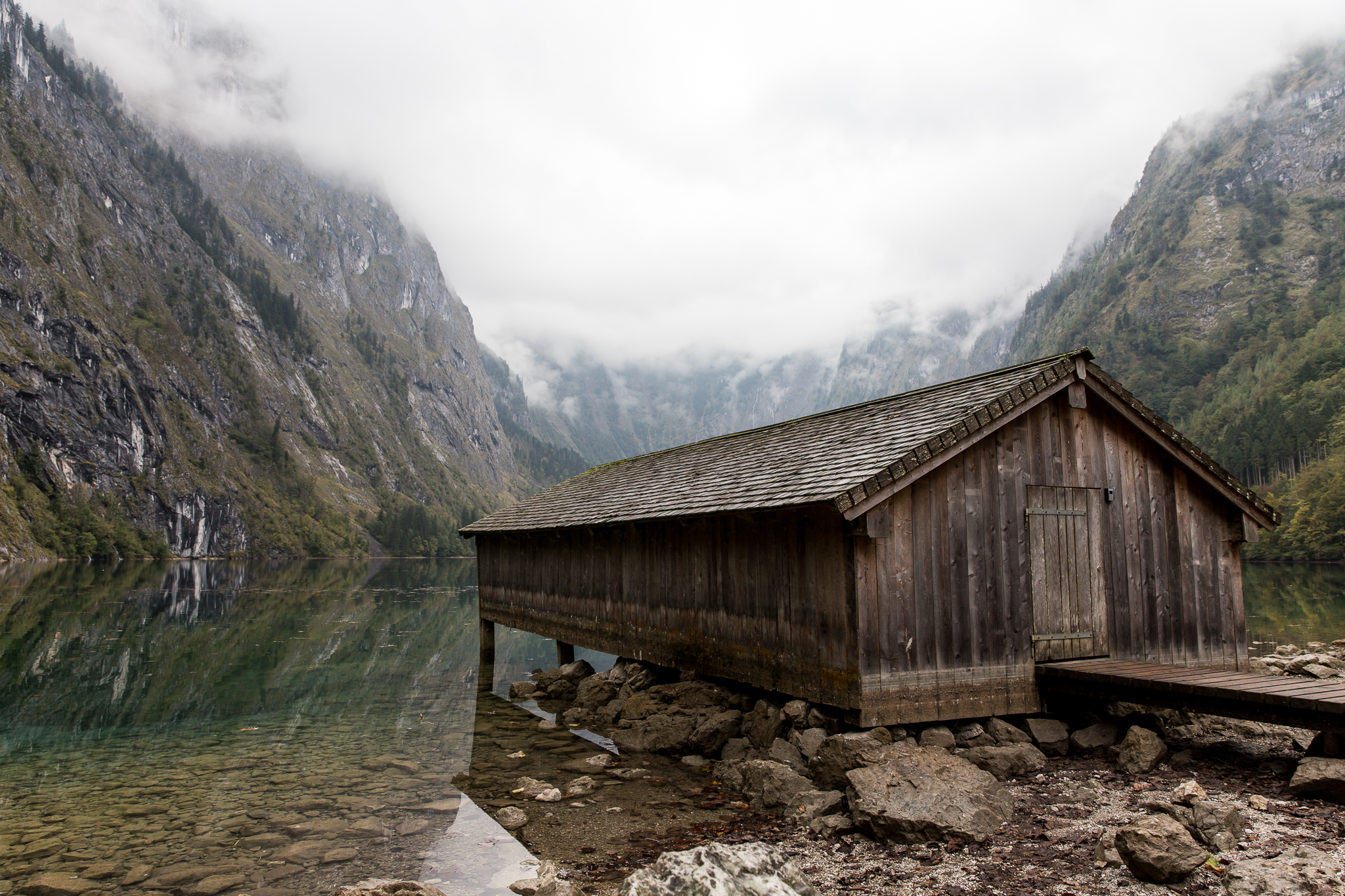 The most picturesque boathouse ever