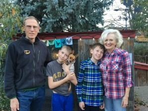 My folks visited