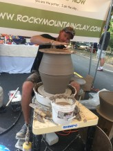 This guy made a 100 pound vessel