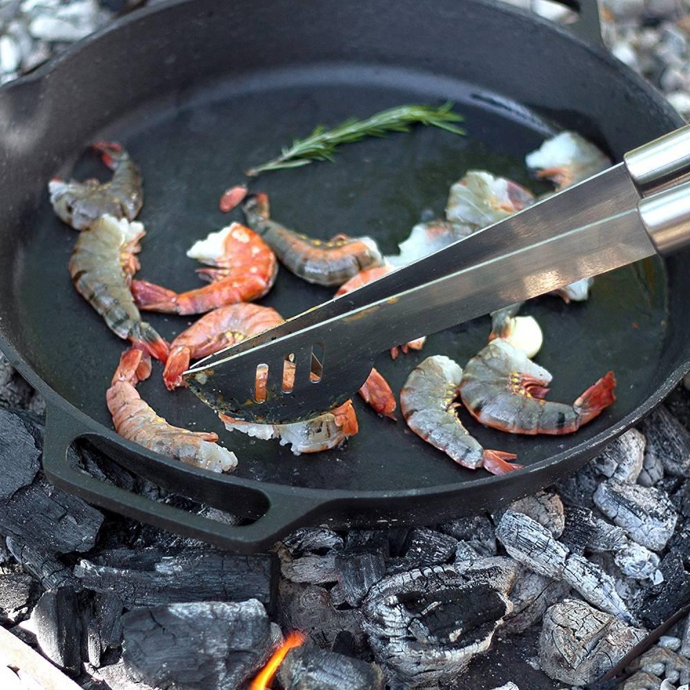clp plaque de cuisson barbecue en fonte pour le grille electrique a gaz ou a charbon i plaque reversible face lisse et rainuree i plaque de grille