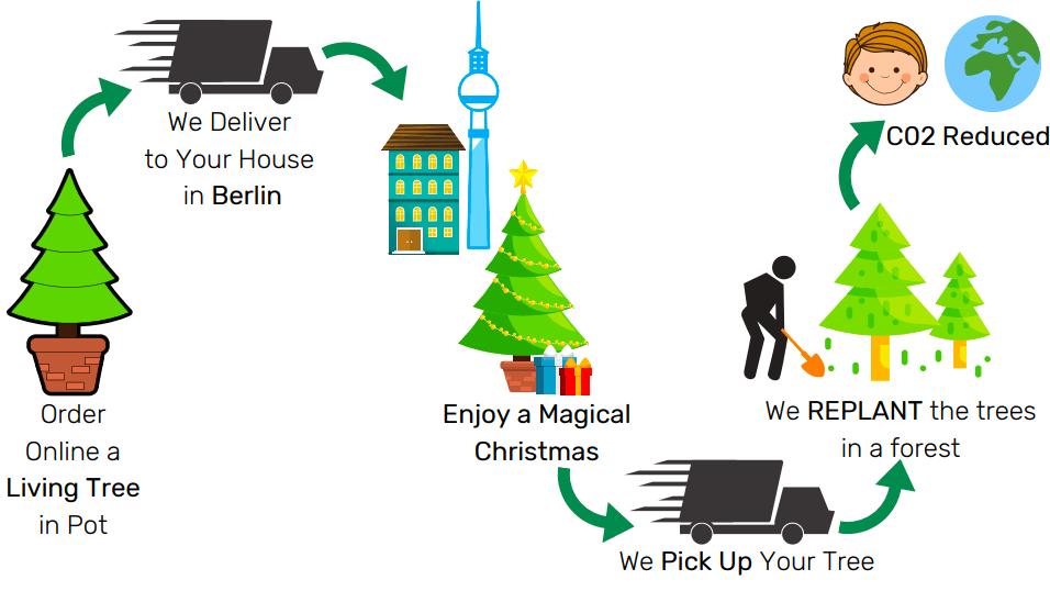 Navidad eco amigable- Wundertree.co