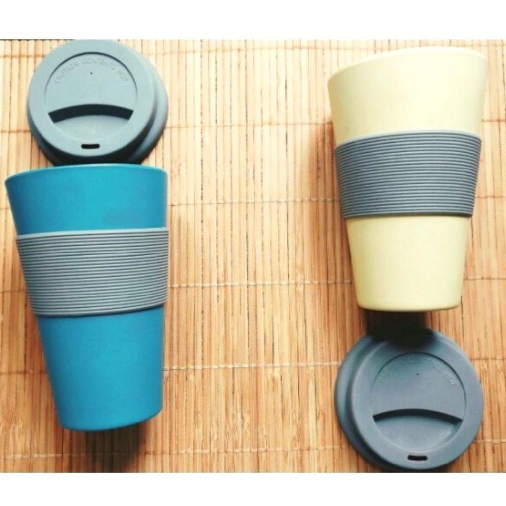 Vasos reutilizables Vive Green