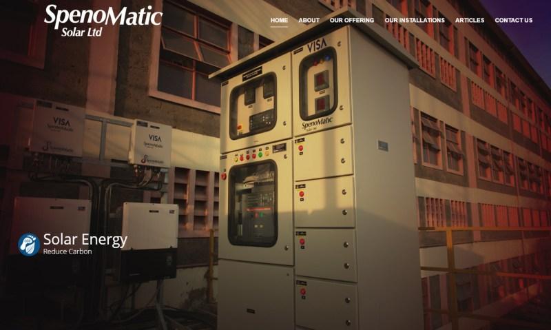 elecrical website design