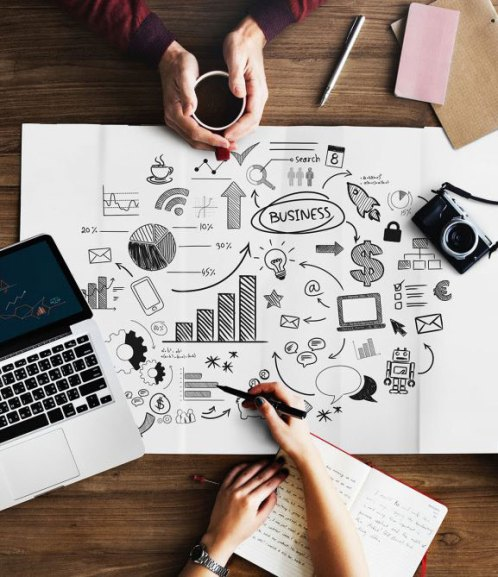 Business branding design
