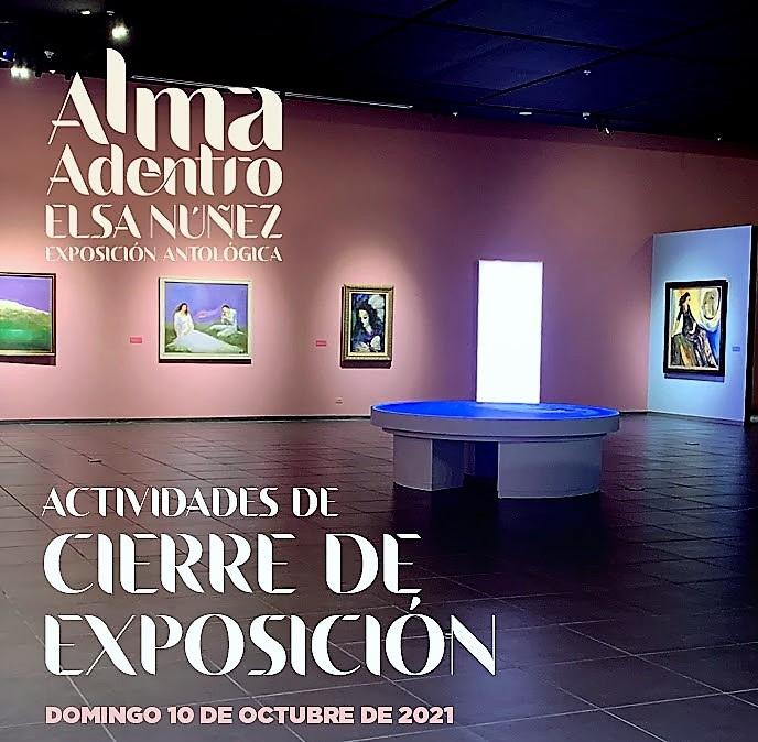 Exposición Antológica: Elsa Núñez, Alma Adentro