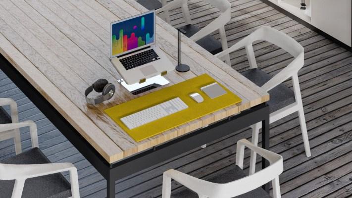 Laptopstandaard thuiswerken