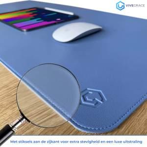 Vivegrace bureau onderlegger blauw