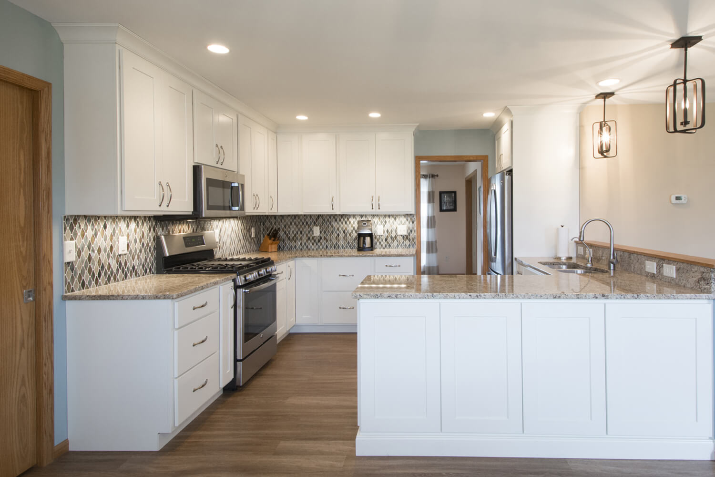kitchen remodel okc drop leaf table plans bright white transformation design
