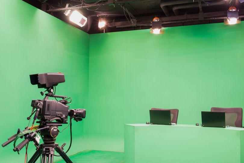 studio with camera